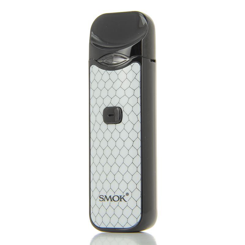 Le kit Nord Pod version black white vu de face de la marque Smoktech